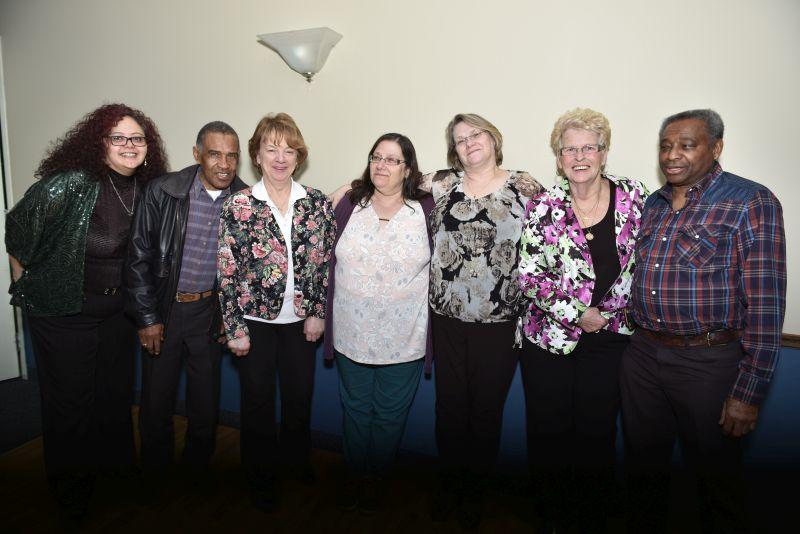 Lucia, Donald, Heather, Susan, Lynn, Kay & Tye - Photo by Jose Atencia Ocadio.