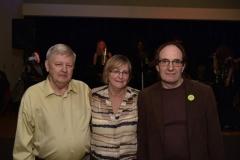 Bill Bouchard (1st VP), Donna Sampson (President) & Dale Betts (2nd VP)